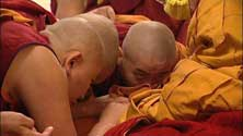These monks are featured in the film, Unwinking Gaze.