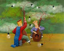 """Sound to Light"" © Orna Ben-Shoshan"