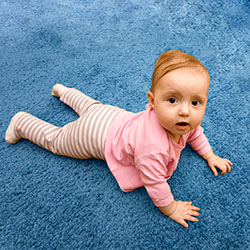 Credit: iStockPhoto/Thinkstock  A typical carpet, made from petroleum-based synthetic fibers, contains dozens of chemicals, gases, volatile organic compounds (VOCs) and other potential toxins--and they can compromise indoor air quality for years on end and cause dangerous reactions in the sensitive among us, including little ones and the elderly.