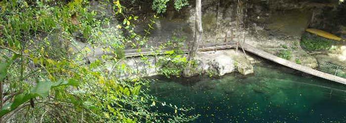 Ek Balam cenote, 2010