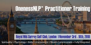 OnenessNLP™ Practitioner Training | London @ London | Richmond | England | United Kingdom