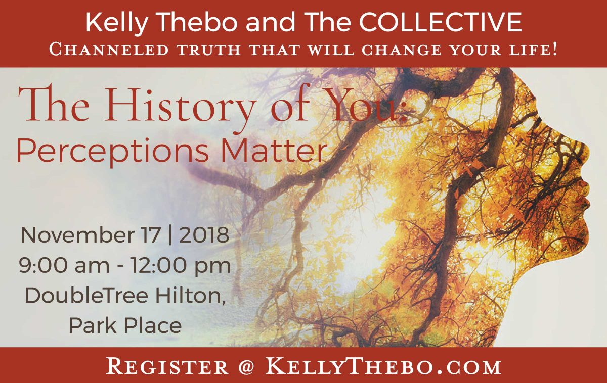 The History of You:  Perceptions Matter | Channeling with The COLLECTIVE | LIVE @ DoubleTree by Hilton, Minneapolis – Park Place | Saint Louis Park | Minnesota | United States