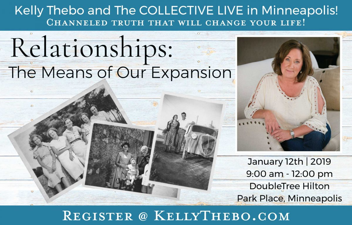 Relationships: The Means of Our Expansion | Channeling with The Collective | Live @ DoubleTree by Hilton Minneapolis – Park Place | Minneapolis | Minnesota | United States
