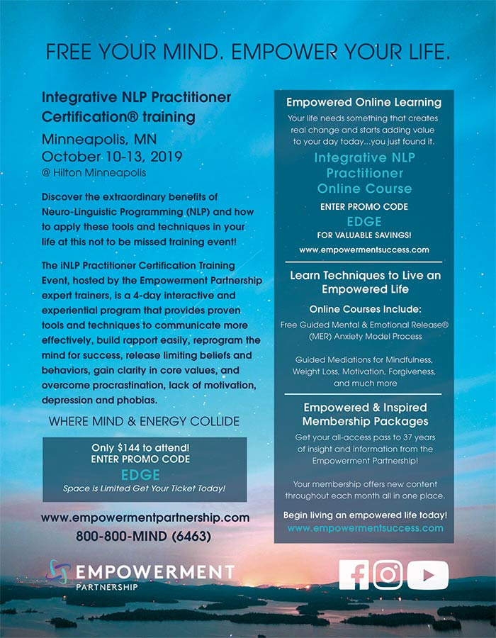 Integrative NLP Practitioner Certification® Training @ Hilton Minneapolis | Minneapolis | Minnesota | United States