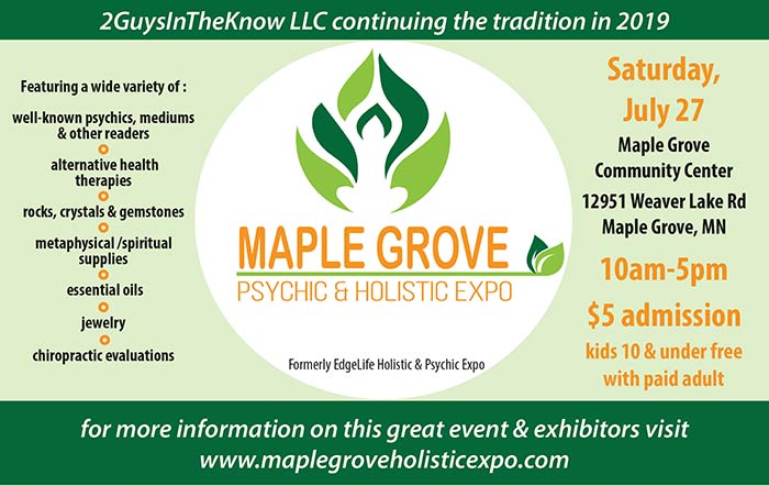 Maple Grove Psychic & Holistic Expo @ Maple Grove Community Center | Maple Grove | Minnesota | United States