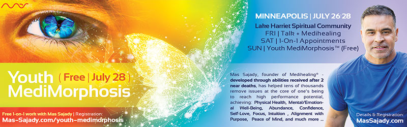 Talk, Medihealing and Free Youth MediMorphosis™ with Mas Sajady @ Lake Harriet Spiritual Community | Minneapolis | Minnesota | United States