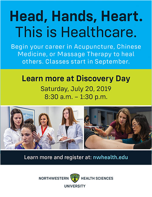 Discovery Day at Northwestern Health Sciences University @ Northwestern Health Sciences University | Bloomington | Minnesota | United States