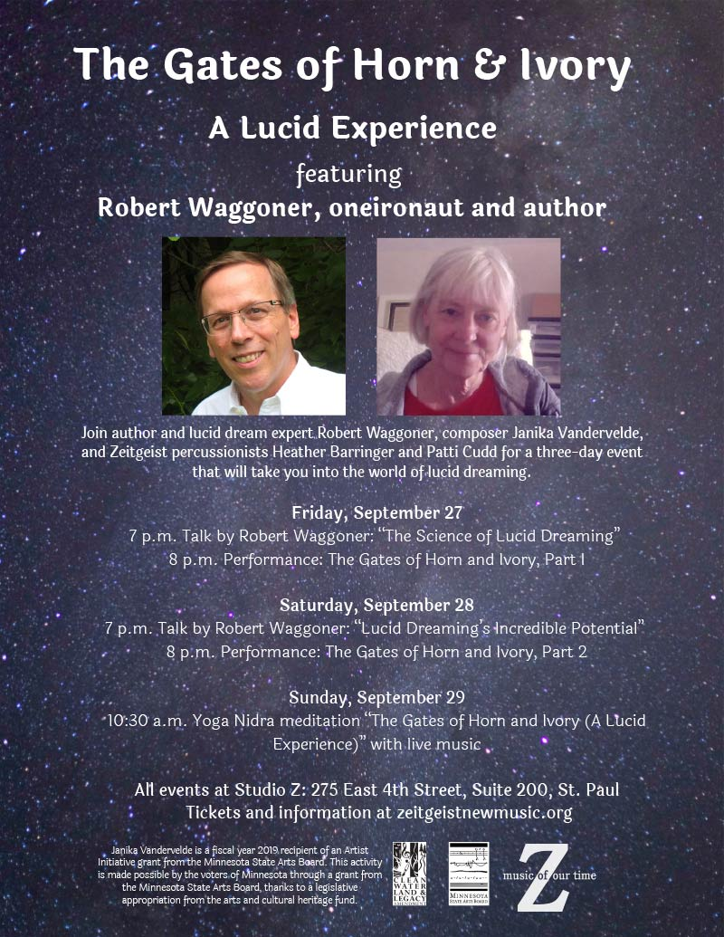 """The Gates of Horn & Ivory"" — Lucid Dreaming with Robert Waggoner @ Studio Z 