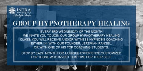 Group Hypnotherapy Healing @ IntraAwareness Lifestyle Studio | Minneapolis | Minnesota | United States