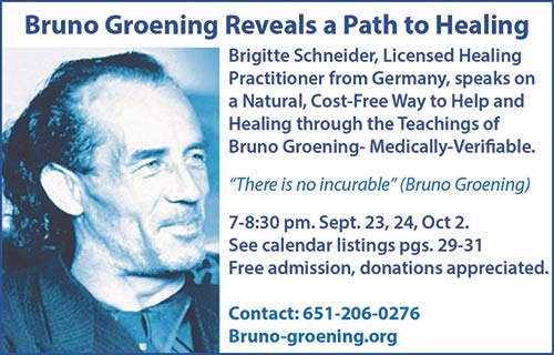Bruno Groening Reveals a Path to Healing @ Carondelet Center - Room 101 | Saint Paul | Minnesota | United States