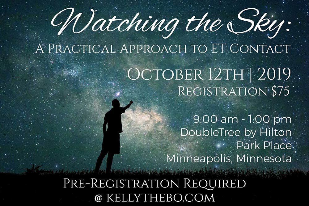 Watching the Sky: A Practical Approach to ET Contact | Live @ DoubleTree by Hilton – Park Place | Minneapolis | Minnesota | United States