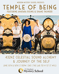 The Temple Of Being featuring Avatara Rising & Shane Thunder @ The Lab