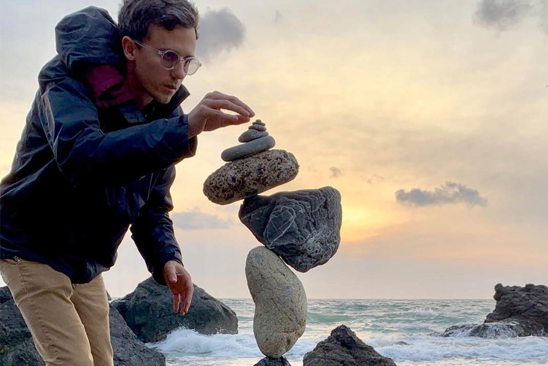 Balancing Rocks Finding Mindfulness In Nature The Edge Magazine
