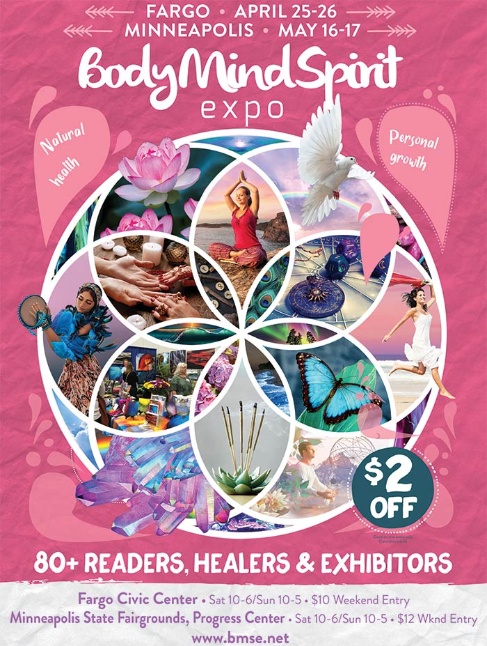 Body Mind Spirit Expo @ Minnesota State Fairgrounds Progress Center | Saint Paul | Minnesota | United States