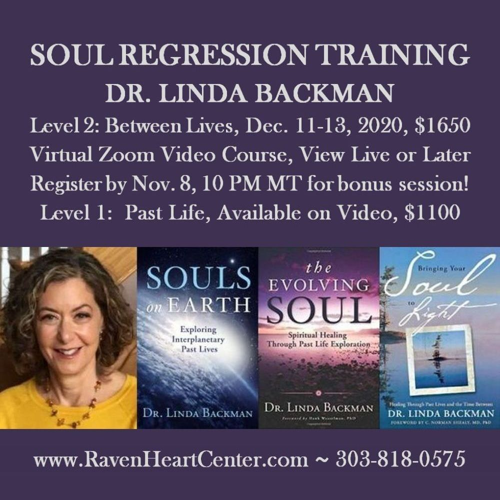Between Lives Soul Regression Training with Dr. Linda Backman