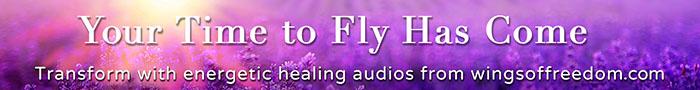 Wings of Freedom energetic healing audios